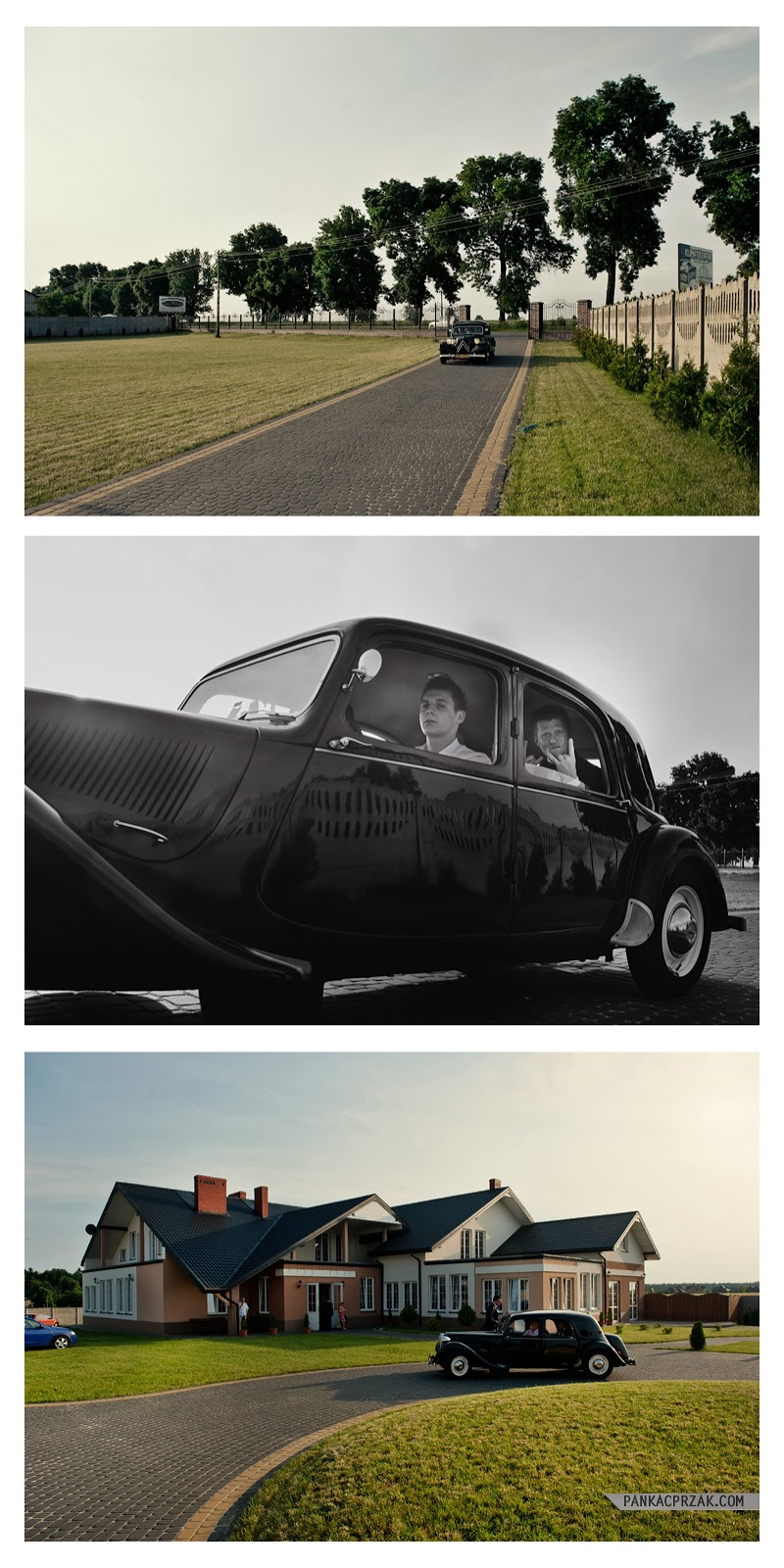 Radomsko, samochód do ślubu