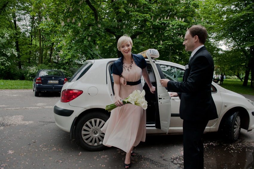 ślub taxi