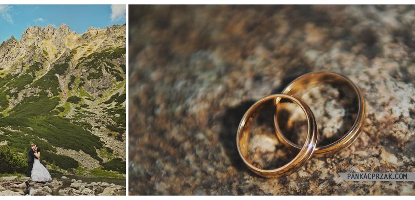 Czarny Staw Zdjęcia ślubne
