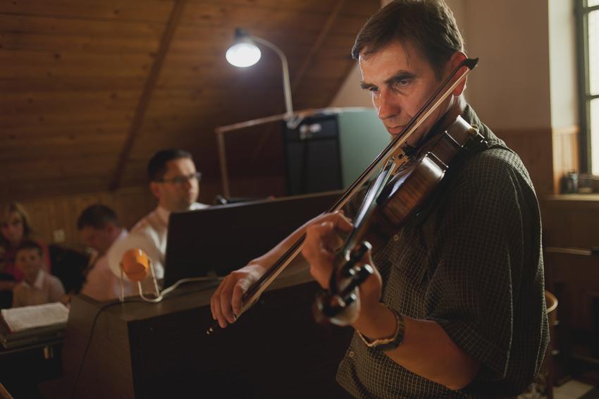 skrzypek na ślub